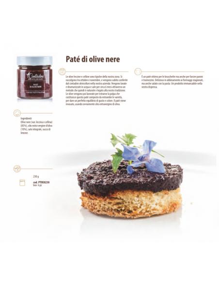 Patè di olive nere - I Contadini di Sapori Salento