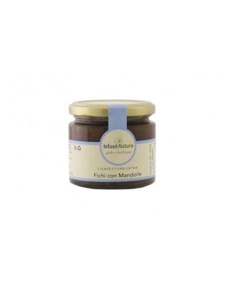Confettura-Extra-di-Fichi-con-Mandorle-220g-infuso-natura da Sapori Salento