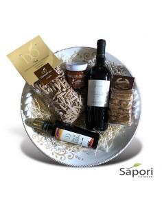 Cesto Otranto Grecale confezione prodotti salentini da Sapori Salento