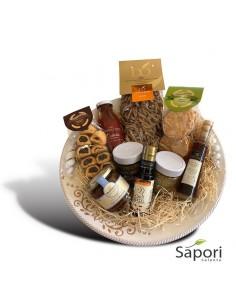 Cesto Otranto Tramontana agroalimentare bio da Sapori Salento